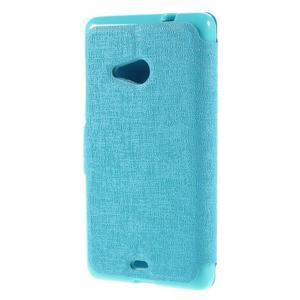 Solid puzdro na mobil Microsoft Lumia 535 - svetlo modré - 2