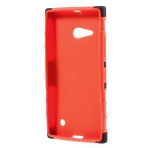 Outdoor odolný kryt na Nokia Lumia 730/735 - oranžový - 2