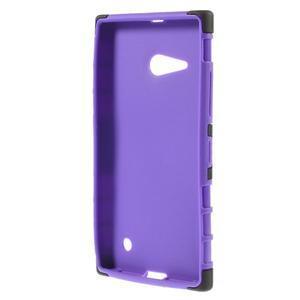 Outdoor odolný kryt pre Nokia Lumia 730/735 - fialový - 2