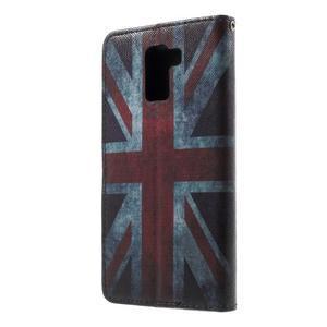 Cross peňaženkové puzdro na Huawei Honor 7 - UK vlajka - 2