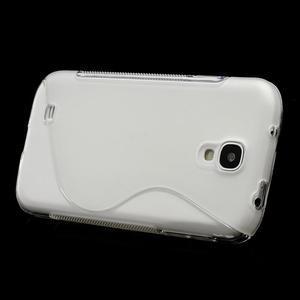S-line gélový obal pre Samsung Galaxy S4 - transparentný - 2