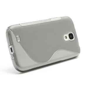 S-line gélový obal na Samsung Galaxy S4 - šedý - 2