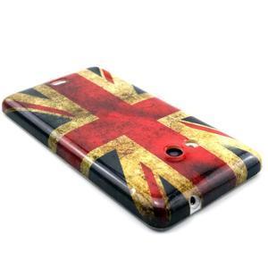 Gélový kryt na Microsoft Lumia 535 - UK vlajka - 2