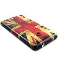 Gélový kryt na Microsoft Lumia 535 - UK vlajka - 2/3