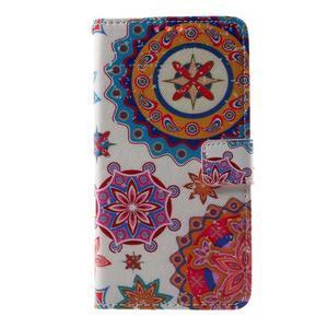 Cross peňaženkové puzdro pre Huawei Honor 7 - mandala - 2