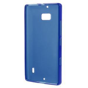 Matný gélový kryt pre Nokia Lumia 930 - modrý - 2