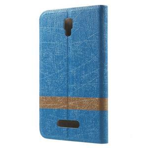 Linie pouzdro na mobil Lenovo A2010 - modré - 2