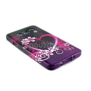 Gélový kryt na Samsung Galaxy A3 - srdce - 2