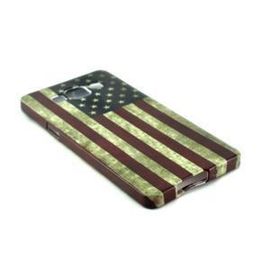 Gélový kryt Samsung Galaxy A5 - vlajka USA - 2