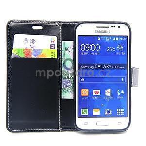 Černé pouzdro na Samsung Galaxy Core Prime - 2
