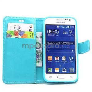 Tyrkysové pouzdro na Samgung Galaxy Core Prime - 2