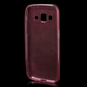 Ultra tenký slim obal na Samsung Galaxy Core Prime - červený - 2