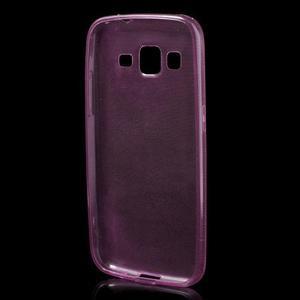 Ultra tenký slim obal pre Samsung Galaxy Core Prime - ružový - 2