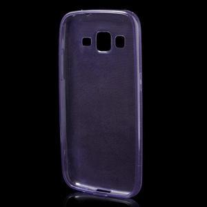 Ultra tenký slim obal pre Samsung Galaxy Core Prime - fialový - 2