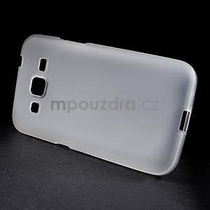 Bílý matný gelový kryt Samsung Galaxy Core Prime - 2