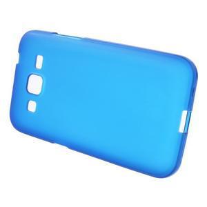 Modrý matný gelový kryt Samsung Galaxy Core Prime - 2