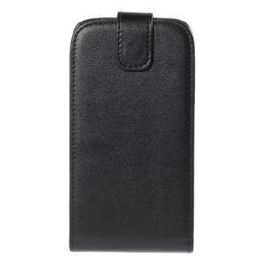 Flipové puzdro Samsung Galaxy Core Prime - čierne - 2