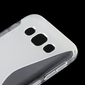 Transparentný gélový obal Samsung Galaxy E5 - 2
