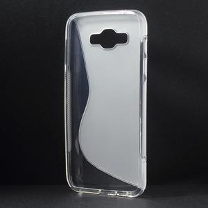 S-line gélový obal na Samsung Galaxy E7 - transparentný - 2