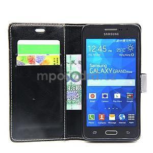 Čierné puzdro pre Samsung Galaxy Grand Prime - 2