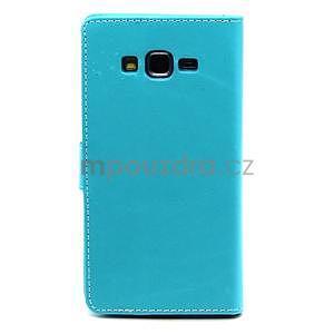 Tyrkysové puzdro na Samsung Galaxy Grand Prime - 2