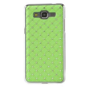Zelený drahokamový kryt pre Samsung Grand Prime - 2