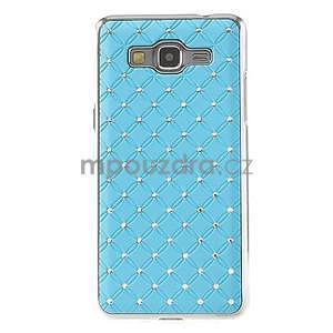 Tyrkysový drahokamový kryt pre Samsung Grand Prime - 2
