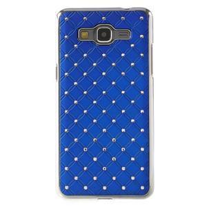 Modrý drahokamový kryt na Samsung Grand Prime - 2