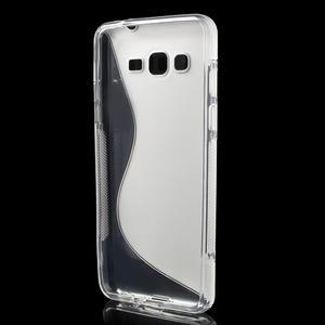 S-line gélový obal pre Samsung Galaxy Grand Prime - transparentný - 2