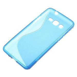 S-line gélový obal na Samsung Galaxy Grand Prime - modrý - 2
