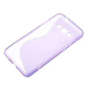 S-line gélový obal na Samsung Galaxy Grand Prime - fialový - 2