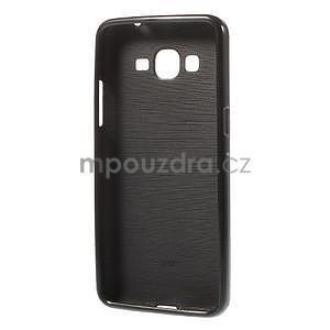 Gélový kryt pre Samsung Galaxy Grand Prime - čierny - 2