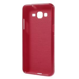 Gélový kryt na Samsung Galaxy Grand Prime - červený - 2