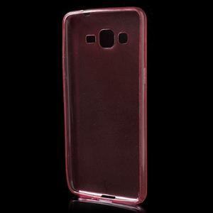 Ultra tenký obal pre Samsung Galaxy Grand Prime G530H - červený - 2