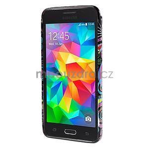 Gélový obal Samsung Galaxy Grand Prime G530H - farebné kruhy - 2