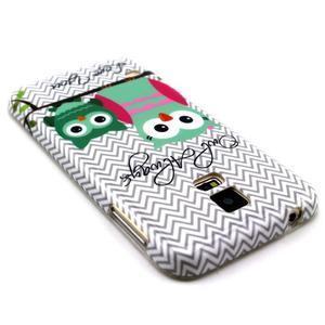 Luxury gélový obal pre mobil Samsung Galaxy S5 - sovičky - 2