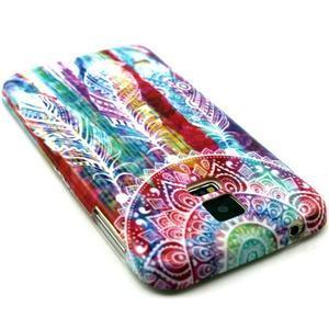 Luxury gélový obal pre mobil Samsung Galaxy S5 - lapač snov - 2