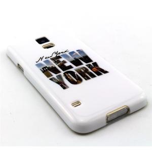 Luxury gélový obal pre mobil Samsung Galaxy S5 - New York - 2