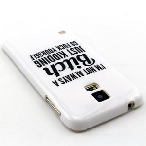 Luxury gélový obal pre mobil Samsung Galaxy S5 - bitch - 2