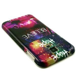 Luxury gélový obal pre mobil Samsung Galaxy S5 - believe - 2