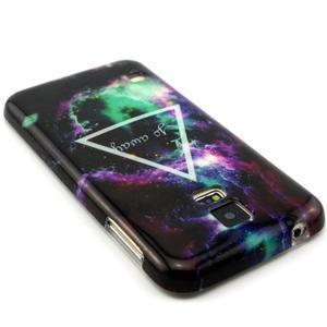 Luxury gélový obal pre mobil Samsung Galaxy S5 - triangl - 2
