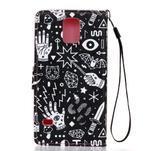 Knížkové PU kožené puzdro pre Samsung Galaxy S5 - - 2/6