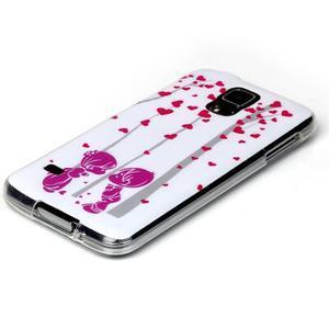 Rich gelový obal na Samsung Galaxy S5 - láska - 2