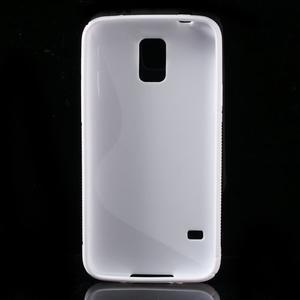 S-line gelový obal na mobil Samsung Galaxy S5 - bílý - 2