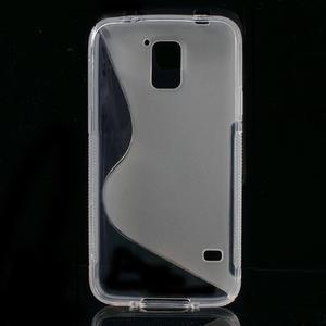 S-line gelový obal na mobil Samsung Galaxy S5 - transparentní - 2