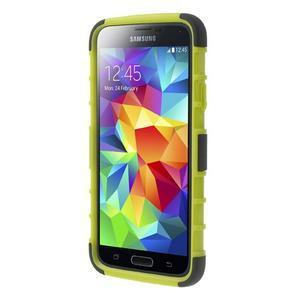 Outdoor odolný kryt pre mobil Samsung Galaxy S5 - zelený - 2