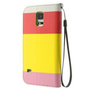 Colory PU kožené pouzdro na mobil Samsung Galaxy S5 - variant I - 2