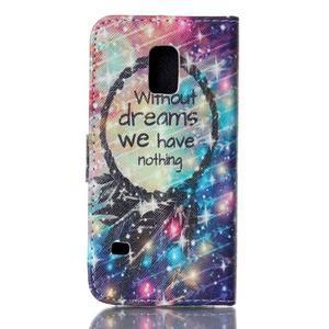 Stand peněženkové pouzdro na Samsung Galaxy S5 mini - dreams - 2