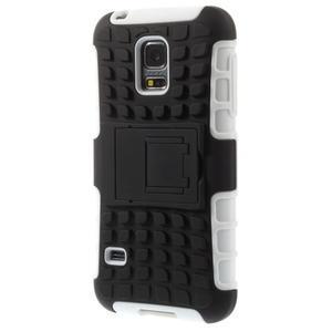 Outdoor odolný obal pre mobil Samsung Galaxy S5 mini - biely - 2