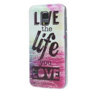 Ultratenký obal na mobil Samsung Galaxy S5 mini - life - 2